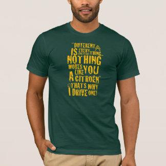 """Verschillend Citroën """"is alles"""" het ontwerp van de T Shirt"""