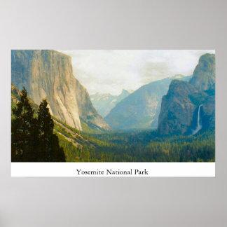 Verschillende Uitzicht van het Park van Yosemite h Poster