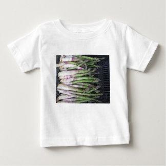 Verse asperge uitgelezen van de tuin baby t shirts