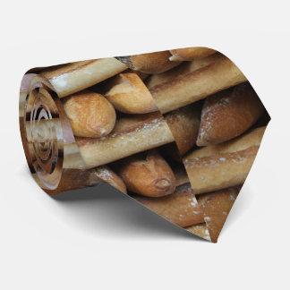 Verse baguettes bij een markt eigen stropdas