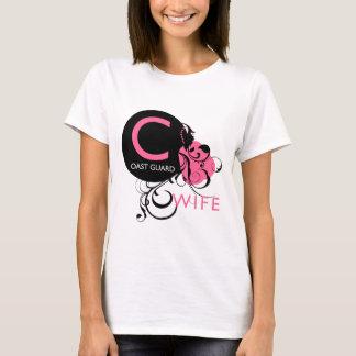 Versierd Aanvankelijk - De Vrouw van de Kustwacht T Shirt