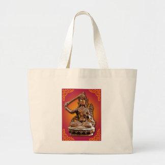 Versierd Boeddhistische Deity Manjushri Jumbo Draagtas