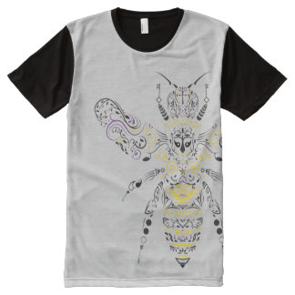 versierd honingsbij All-Over-Print t-shirt