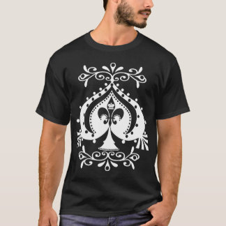 Versierd Spade Transparent1 T Shirt