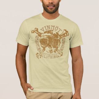 Versierd Vinmot (vintage metaal) T Shirt