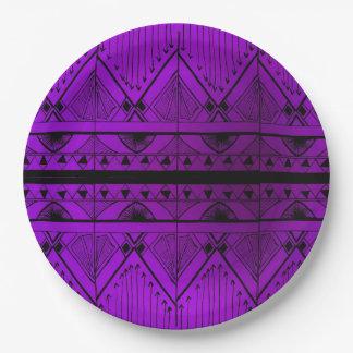 Versiering van de Lavendel van het Ontwerp van het Papieren Bordje