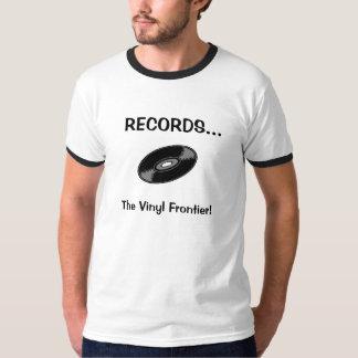VERSLAGEN… De vinylGrens! T Shirt
