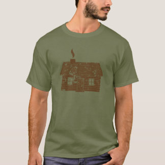 Versleten blokhuis | t shirt