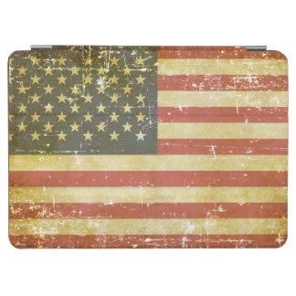 Versleten Patriottische Amerikaanse Vlag iPad Air Cover