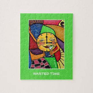 Verspilde Tijd - de Stukken van de Tijd Puzzel