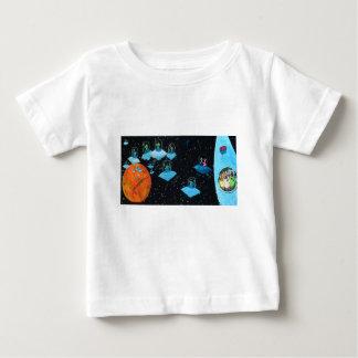 Verstoorde Marsbewoners en sommige Koeien Baby T Shirts