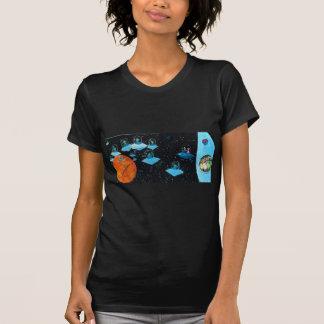 Verstoorde Marsbewoners en sommige Koeien T Shirt