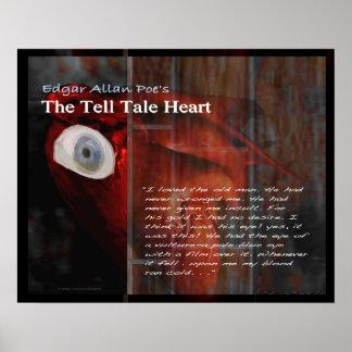 Vertel de tekst van het Hart van het Verhaal Poster