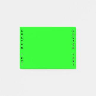 Verticale Tekst | van de Douane Trillende Groen Post-it® Notes