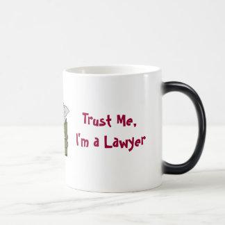 Vertrouw op me, ben ik een Advocaat Magische Mok
