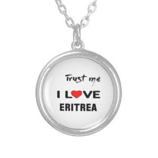 Vertrouw op me de liefde Eritrea van I Ketting Rond Hangertje
