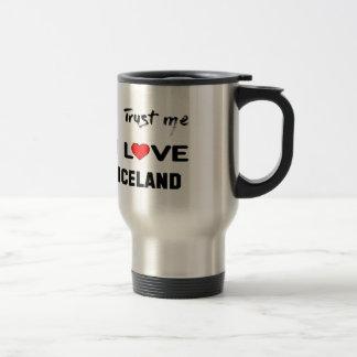 Vertrouw op me de liefde IJsland van I Reisbeker
