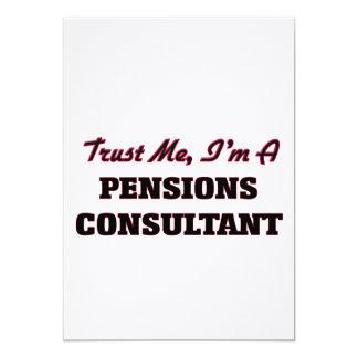 Vertrouw op me ik ben een Adviseur van Pensioenen