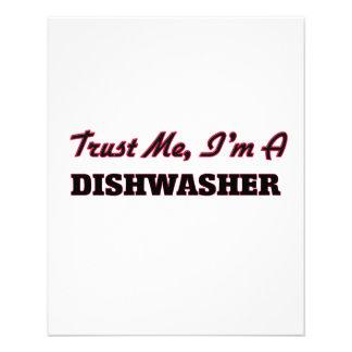 Vertrouw op me ik ben een Afwasmachine Folder