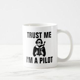 Vertrouw op me ik ben een Loods Koffiemok
