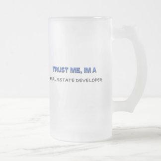 Vertrouw op me ik ben een Ontwikkelaar van Matglas Bierpul