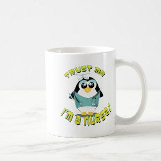 Vertrouw op me ik ben een Verpleegster Koffiemok