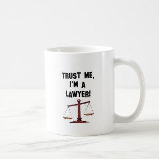 Vertrouw op me Im een advocaat Koffiemok