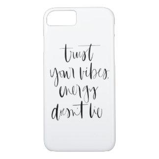 Vertrouw op Uw Hoesje van iPhone Vibes