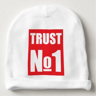 Vertrouwen niemand baby mutsje