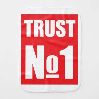 Vertrouwen niemand spuugdoekje