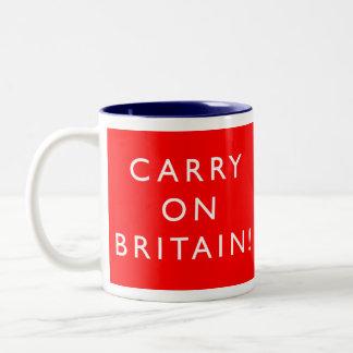 Vervoer Groot-Brittannië - TwoTone Mok