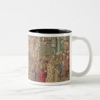Vervoer van de Bak van de Overeenkomst, Tapestr Tweekleurige Koffiemok