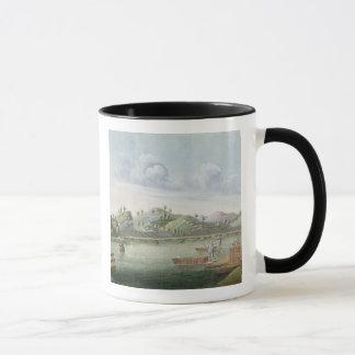 Vervoer van kratten thee (w/c op papier) mok
