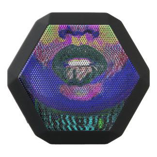 Vervormde Lippen Zwarte Bluetooth Speaker