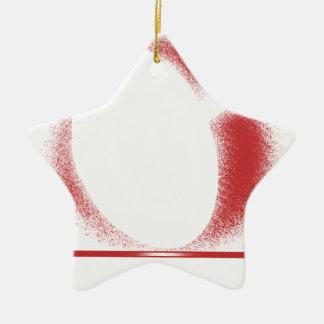 verwacht x keramisch ster ornament