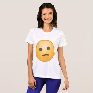 Verwarde Emoji T Shirt
