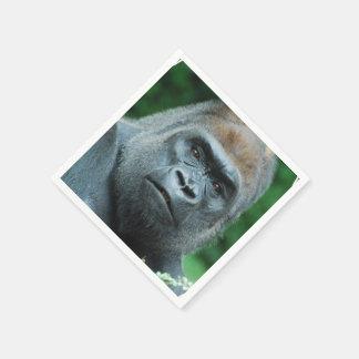 Verwarde Gorilla Papieren Servetten