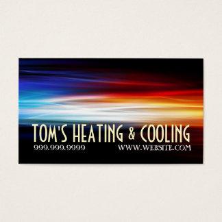 Verwarmen en Airconditioning die AC koelen Visitekaartjes