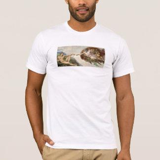 Verwezenlijking van Adam - die door Michelangelo T Shirt