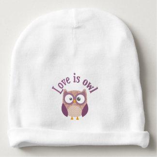 """Verzameling """"Love is owl """" Baby Mutsje"""