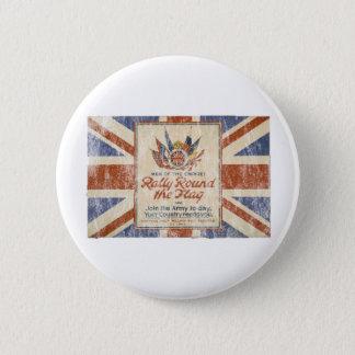 Verzameling om de Vlag Ronde Button 5,7 Cm