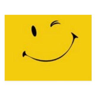 Verzend een Glimlach - het Briefkaart van het
