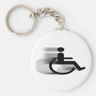 Verzendende Rolstoel Keychain Sleutelhanger