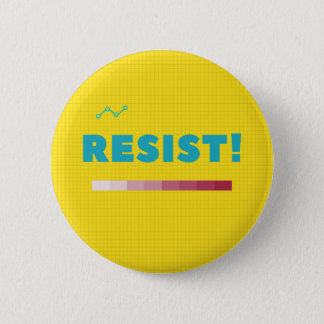 Verzet me tegen knoop ronde button 5,7 cm