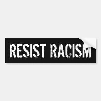 Verzet me tegen Racisme - de AntiTroef van het Bumpersticker