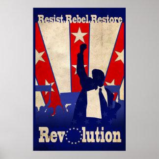 Verzet me tegen Rebel herstellen (het Grote) Poster