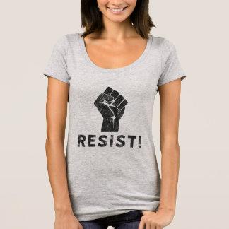 Verzet me tegen Vuist T Shirt