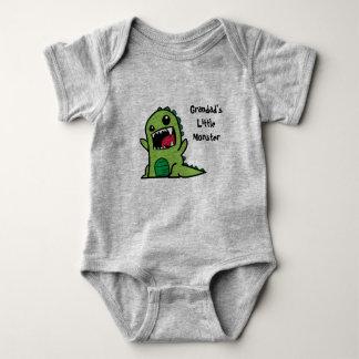 Vest van het Baby van het Monster van de opa Romper