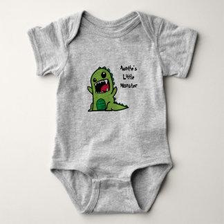 Vest van het Baby van het Monster van de tante Romper