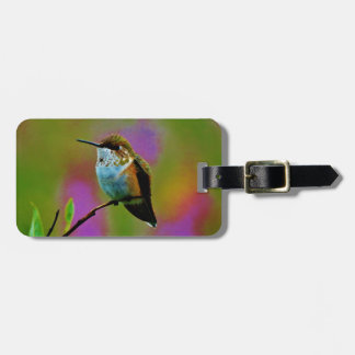 Vet weinig Kolibrie Kofferlabel